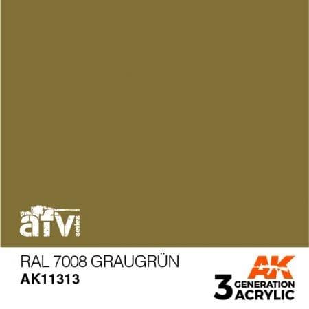 AK11313 RAL 7008 GRAUGRÜN