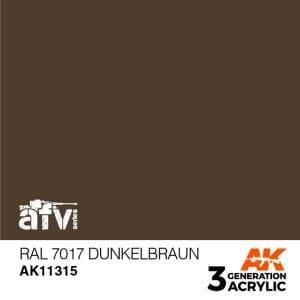 AK11315 RAL 7017 DUNKELBRAUN