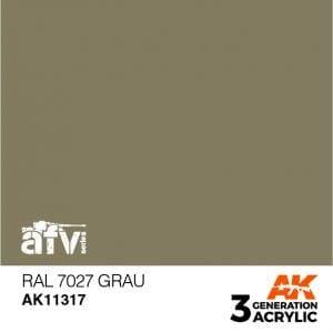 AK11317 RAL 7027 GRAU