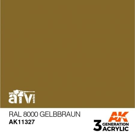 AK113127 RAL 8000 GELBBRAUN