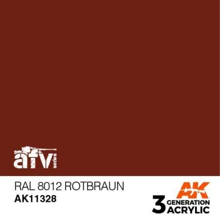 AK11328 RAL 8012 ROTBRAUN