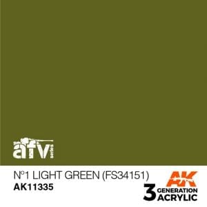 AK11335 Nº1 LIGHT GREEN (FS34151)