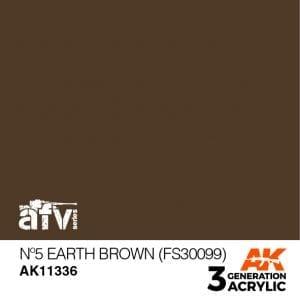 AK11336 Nº5 EARTH BROWN (FS30099)
