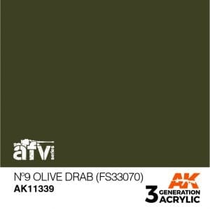 AK11339 Nº9 OLIVE DRAB (FS33070)