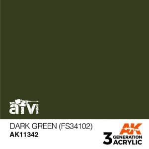 AK11342 DARK GREEN (FS34102)
