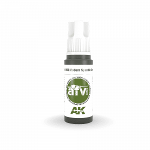 AK11350 MODERN SPANISH GREEN