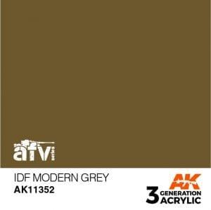 AK11352 IDF MODERN GREY