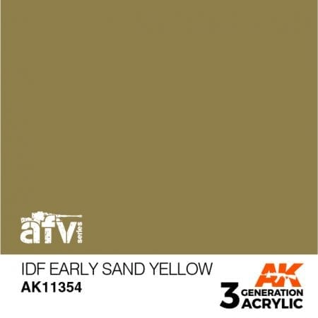 AK11354 IDF EARLY SAND YELLOW