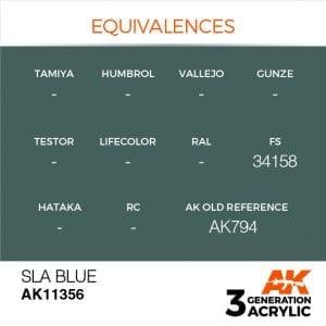 AK11356 SLA BLUE