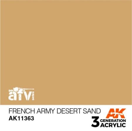 AK11363 FRENCH ARMY DESERT SAND
