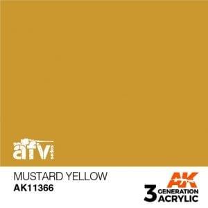 AK11366 MUSTARD YELLOW