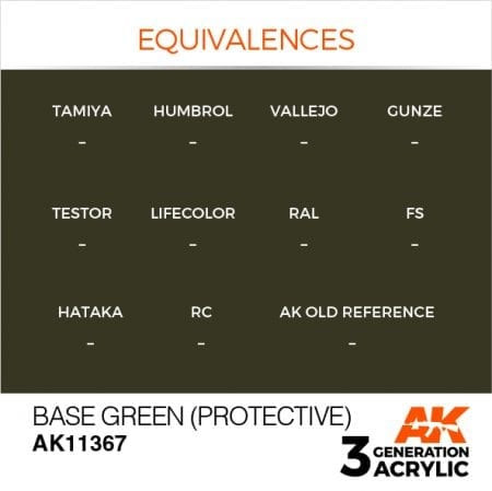 AK11367 BASE GREEN (PROTECTIVE)