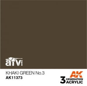 AK11373 KHAKI GREEN NO.3
