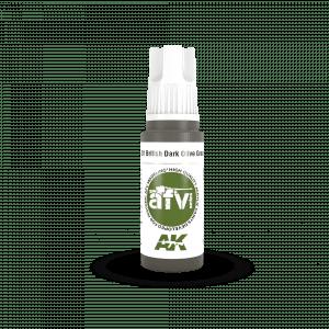 AK11381 BRITISH DARK OLIVE GREEN PFI