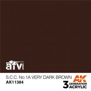 AK11384 S.C.C. NO.1A VERY DARK BROW