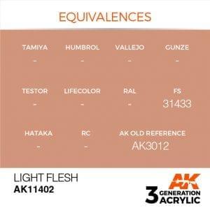 AK11402 LIGHT FLESH