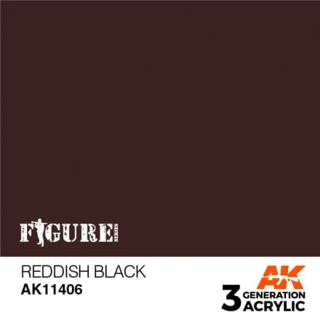 AK11406 REDDISH BLACK