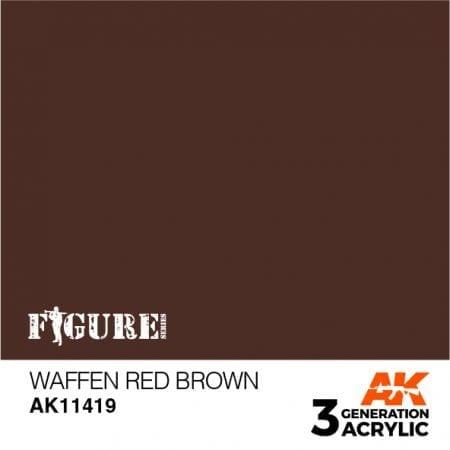 AK11419 WAFFEN RED BROWN