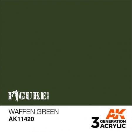 AK11420 WAFFEN GREEN