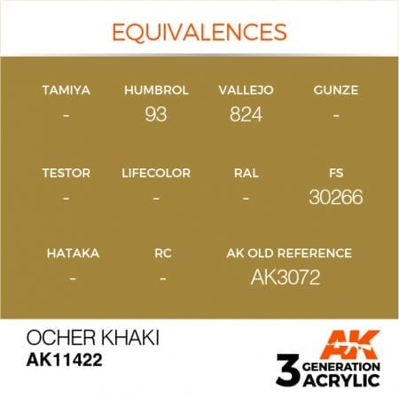 AK11422 OCHER KHAKI