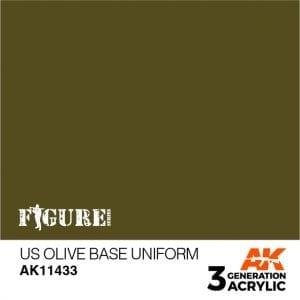 AK11433 US OLIVE BASE UNIFORM
