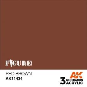 AK11434 RED BROWN