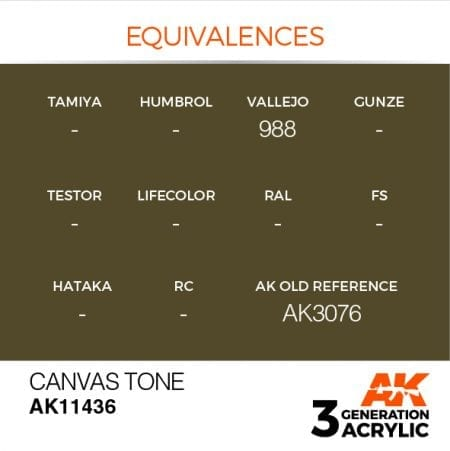 AK11436 CANVAS TONE