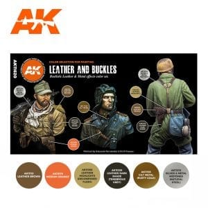 AK11620 LEATHER AND BUCKLES