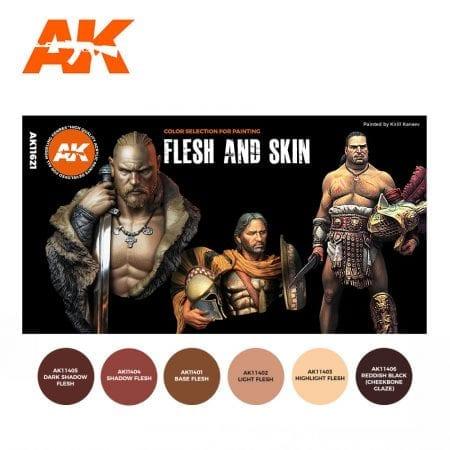 AK11621 FLESH AND SKIN COLORS (THE ORIGINAL SELECTION)