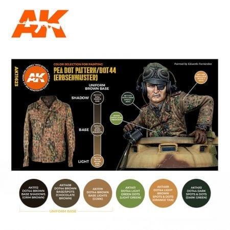 AK11623 PEA DOT PATTERN/DOT44 (ERBSENMUSTER)
