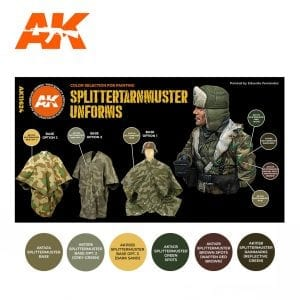 AK11624 SPLITTERTARNMUSTER UNIFORMS