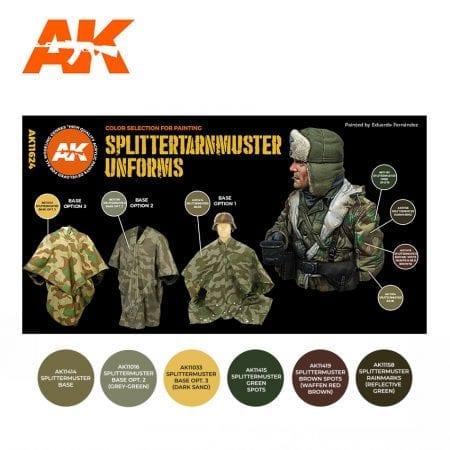 AK11624 SPLITTERTARNMUSTER UNIFORMS