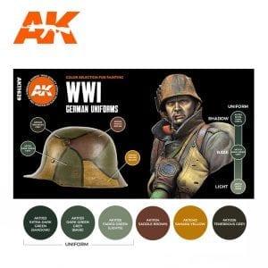 AK11629 WWI GERMAN UNIFORMS
