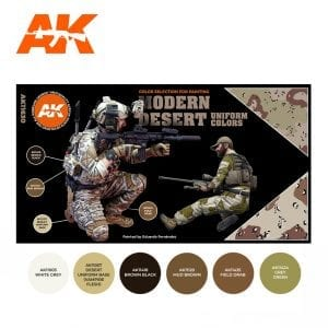 AK11630 MODERN DESERT UNIFORM COLORS
