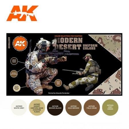 AK11630 MODERN DESERT UNIFORM COLORS