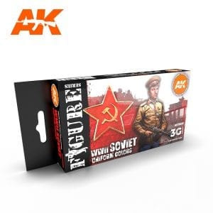 AK11635 WWII SOVIET UNIFORM COLORS