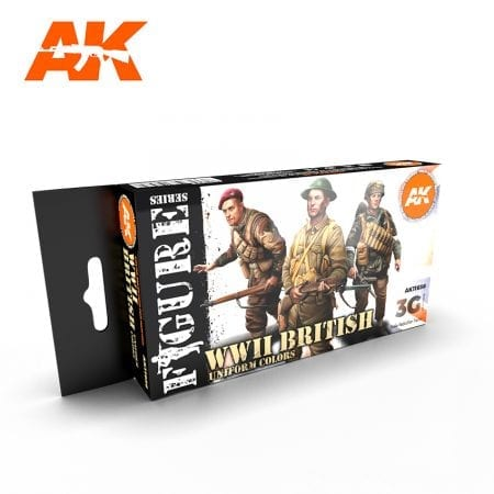 AK11636 WWII BRITISH UNIFORM COLORS