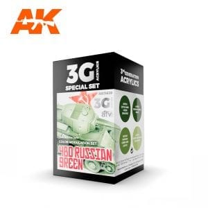 AK11639 4BO RUSSIAN GREEN MODULATION SET