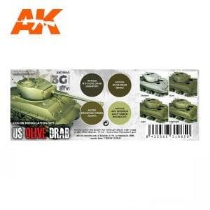 AK11643 US OLIVE DRAB MODULATION SET
