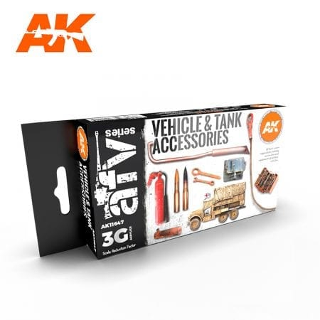 AK11647 Vehicle and Tank Accesories Set