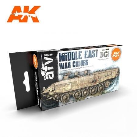 AK11648 MIDDLE EAST WAR COLORS