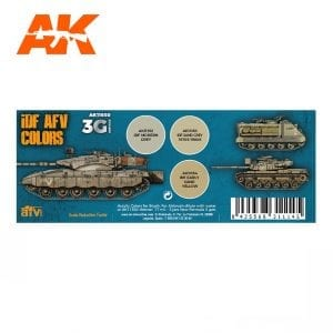 AK11650 IDF AFV COLORS