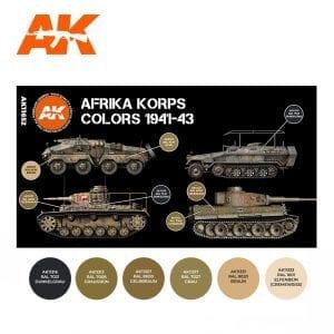 AK11652 AFRIKA KORPS COLORS 1941-43