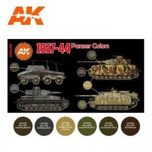 AK11656 1937-44 PANZER COLORS