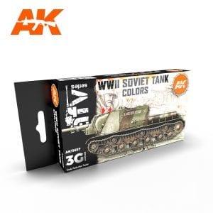 AK11657 WWII SOVIET TANK COLORS