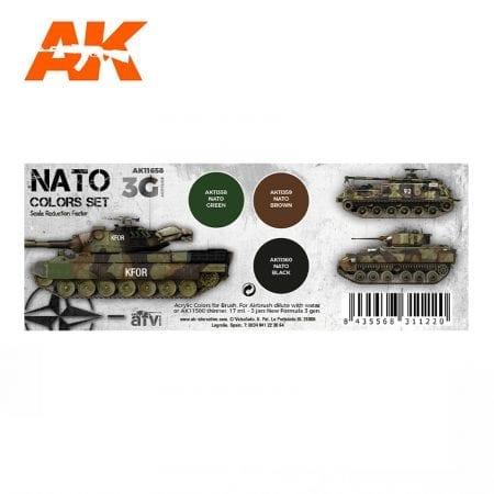 AK11658 NATO COLORS SET