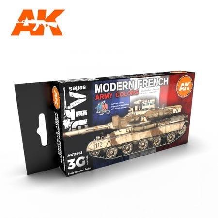 AK11661 MODERN FRENCH ARMY COLORS
