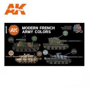 AK11661 MODERN FRENCH ARMY COLORSAK11661 MODERN FRENCH ARMY COLORS