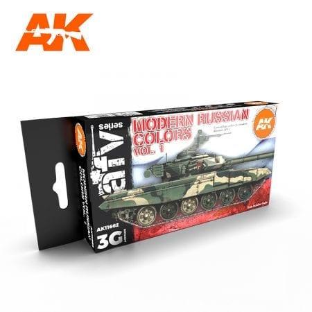 AK11662 MODERN RUSSIAN COLOURS VOL 1