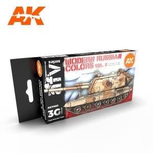 AK11663 MODERN RUSSIAN COLOURS VOL 2